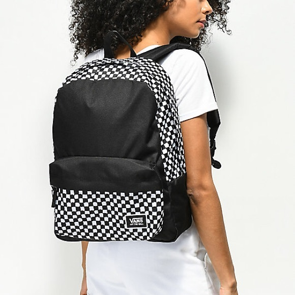 f711e4926c9d Vans Realm Classic DIY Checkerboard Backpack